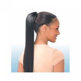 Equal Drawstring Ponytail - YAKY STRAIGHT 24""