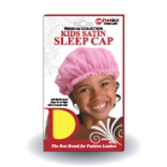 Donna Collection Kids Satin Sleep Cap #11099