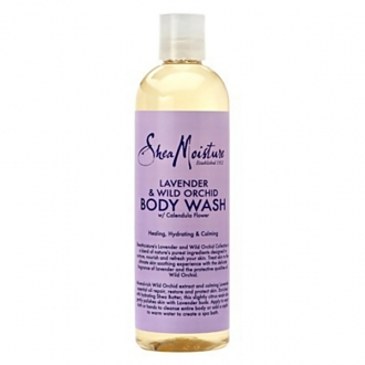 SheaMoisture  BODY WASH(Lavender & Wild Orchid) 13oz