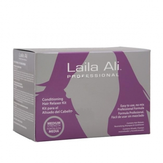 Laila Ali Professional CONDITIONING HAIR RELAXER KIT(Medium Strength)