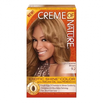 Creme of Nature Hair Color LIGHT CARAMEL BROWN 9.2