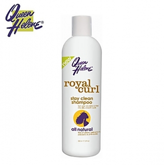 Queen Helene naturals Royal Curl Stay Clean Shampoo 12oz