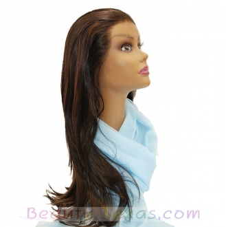 A Plus Ozone Synthetic Lace Front Wig - LACE - 005HN