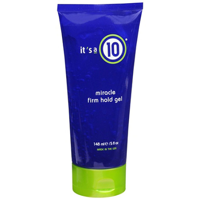 it's a 10 miracle firm hold gel 5 fl oz