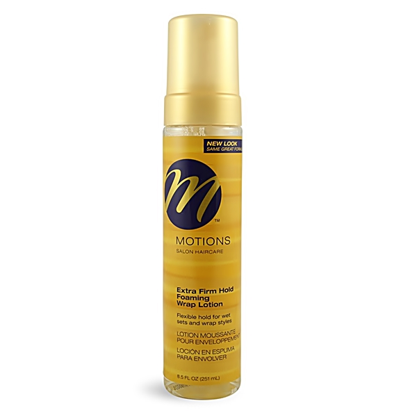 Motions Extra Firm Hold Foaming Wrap Lotion 8.5oz