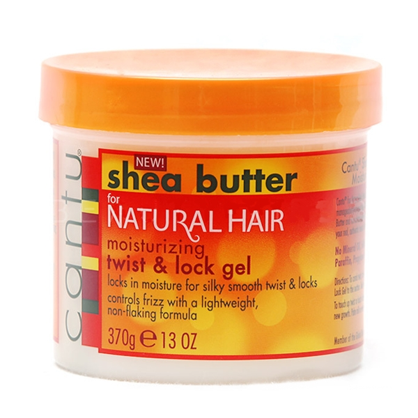 Cantu Shea Butter for Natural hair Moisturizing Twist & Lock Gel 13oz