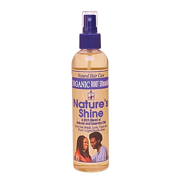 ORS Natural Hair Care Nature's Shine Natural & Essential Oils 8oz