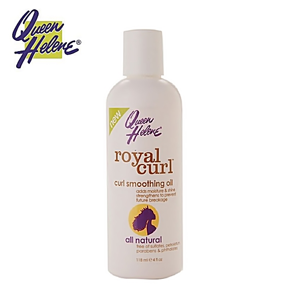 Queen Helene naturals Royal Curl Curl Smoothing Oil 4oz