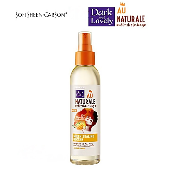 Dark and lovely Naturale SHEEN SEALING NECTAR 5.75oz