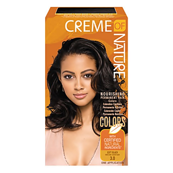 Creme of Nature Hair Color SOFT BLACK 3.0