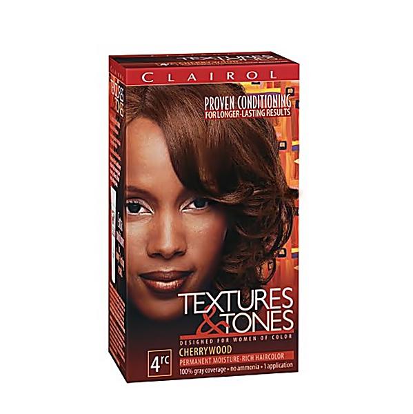 Clairol Textures Tones Hair Color Cherrywood 4rc